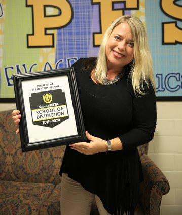 Porterdale named National Beta School of Distinction