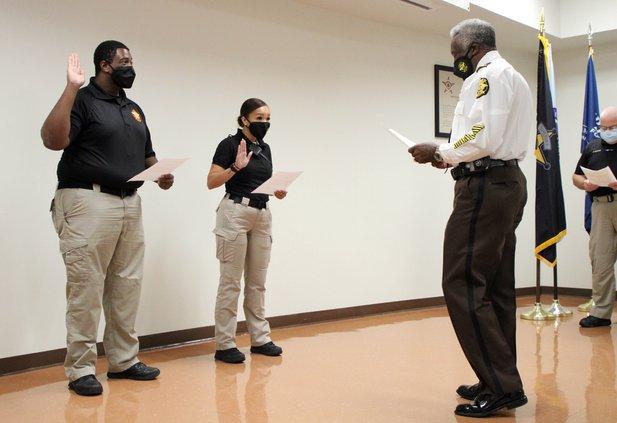 More deputies