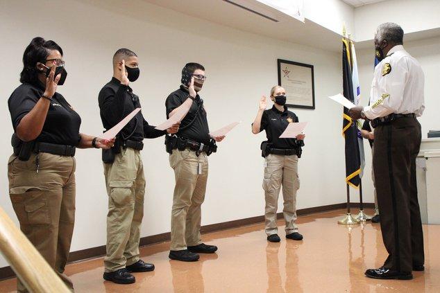 Deputies sworn in