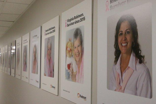 Piedmont breast cancer survivor wall