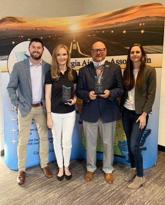 Covington airport award