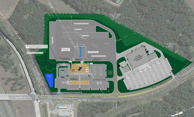 Restaurants part of travel plaza planned for east Newton I-20 exit