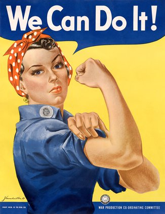 """""""We Can Do It"""" poster"""
