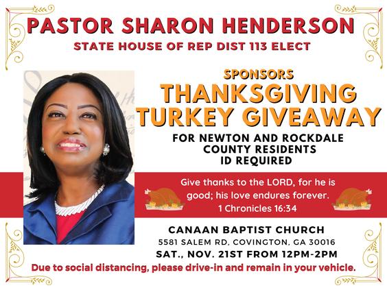 Thanksgiving Turkey giveaway