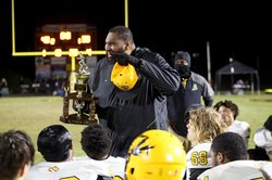 Alcovy vs Evans - Dukes addresses his team
