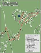 Porterdale Parade Route
