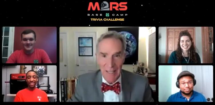 Harris meets Bill Nye