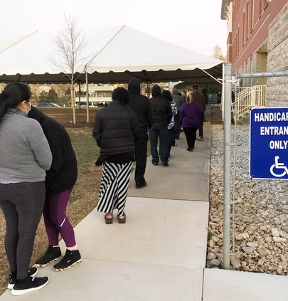 Early voting for runoff