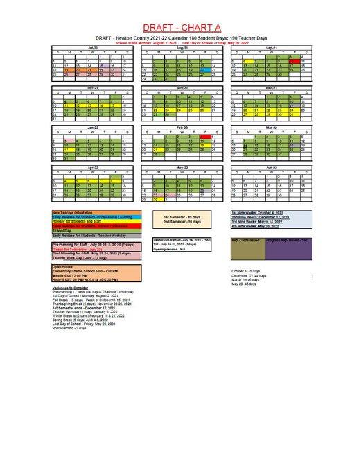 Uga 2021-2022 Calendar Newton BOE approves 2021 2022 school calendar   The Covington News