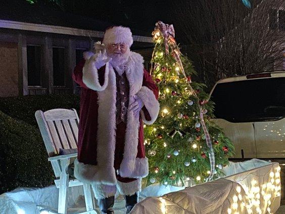 Santa Claus -  2020 Christmas parade In Covington