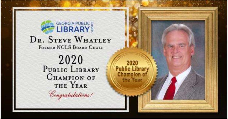 Public library champion