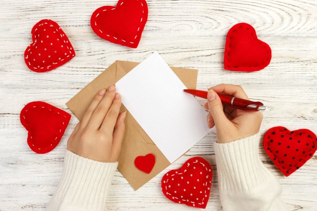 Valentine letters to assisted living facilities