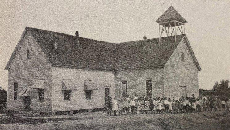 Old Covington Mills school