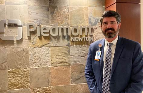 New Piedmont Newton CFO Justin Roberts