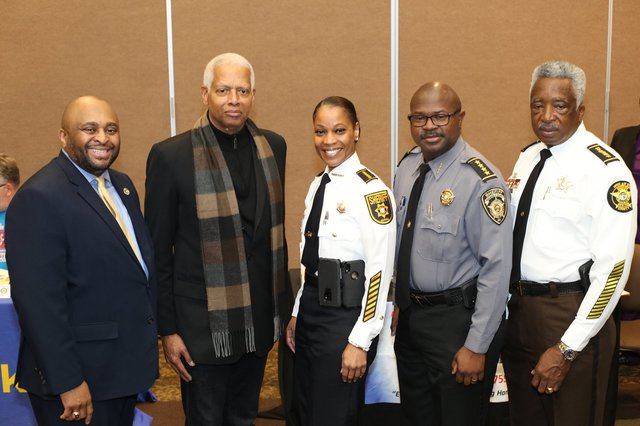 Congressman honors Newton sheriff, four others with Pioneer Awards