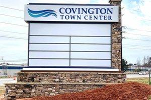 Town Center sign