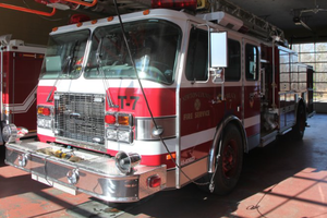 Newton County fire truck