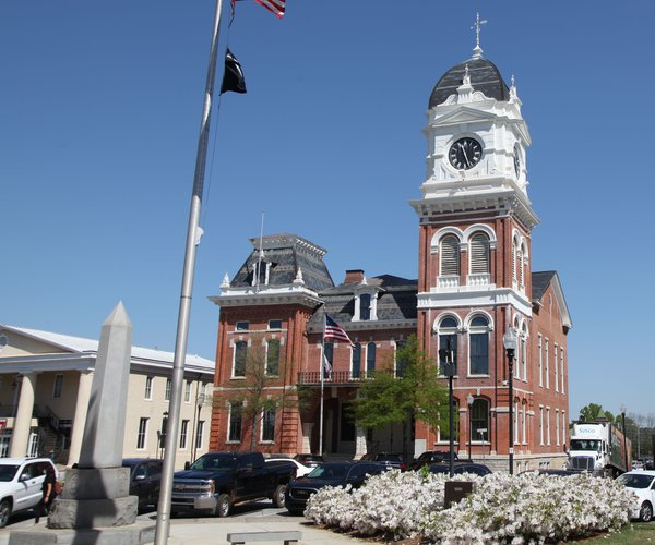 Newton County Historic Courthouse