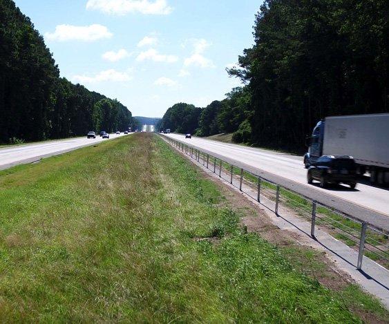 Cable median barrier