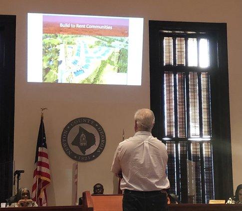 Chapman talks at Newton BOC meeting