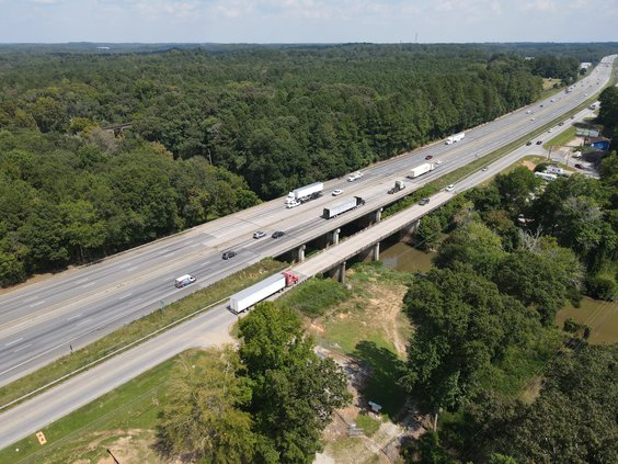 Access Road bridge