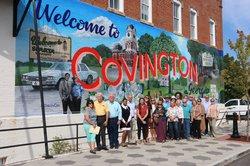 Downtown Covington mural